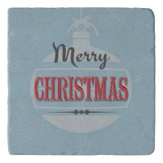 ヴィンテージのクリスマスのデザイン トリベット