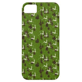 ヴィンテージのクリスマスのトナカイのiPhone 5の場合 iPhone SE/5/5s ケース