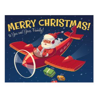 ヴィンテージのクリスマスの挨拶状 ポストカード
