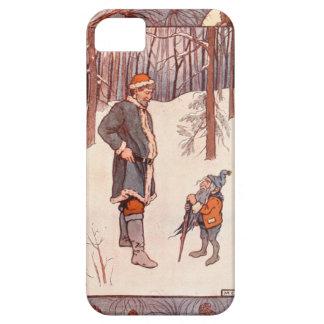 ヴィンテージのクリスマスの物語 iPhone SE/5/5s ケース