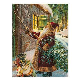 ヴィンテージのクリスマスの郵便はがき ポストカード