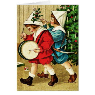 ヴィンテージのクリスマスカード カード