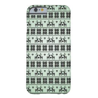 ヴィンテージのクリスマスパターン BARELY THERE iPhone 6 ケース