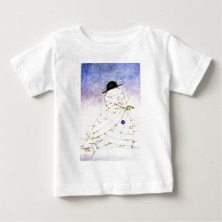 ヴィンテージのクリスマス場面 ベビーTシャツ