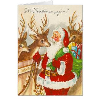 ヴィンテージのクリスマス カード