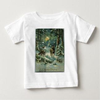 ヴィンテージのクリスマス ベビーTシャツ