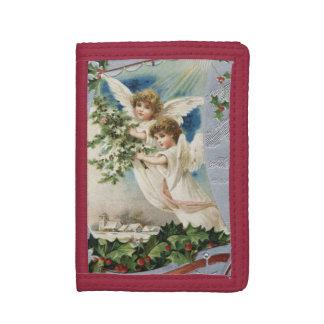 ヴィンテージのクリスマス、ヨットのビクトリアンな天使