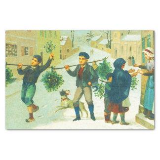 ヴィンテージのクリスマス 薄葉紙
