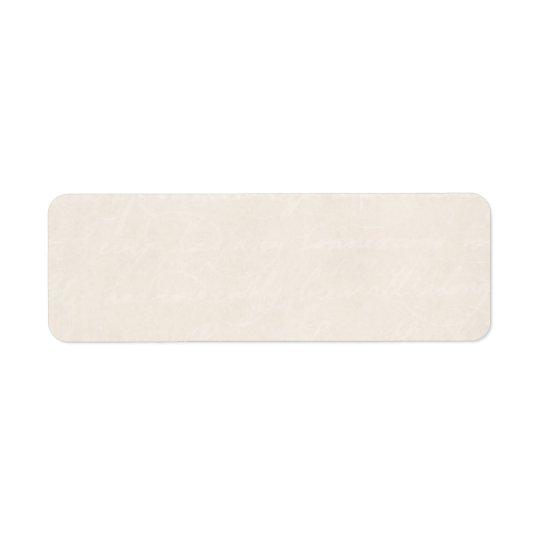 ヴィンテージのクリーム色の羊皮紙の一見の古いペーパー背景 ラベル