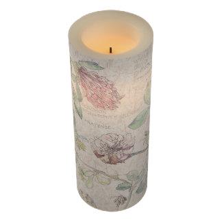 ヴィンテージのクローバーの花のFlameless蝋燭 LEDキャンドル