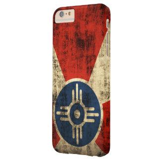ヴィンテージのグランジなウィチタカンザスの旗 BARELY THERE iPhone 6 PLUS ケース