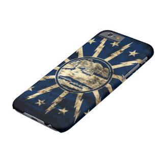ヴィンテージのグランジなバッファローの旗ニューヨーク BARELY THERE iPhone 6 ケース