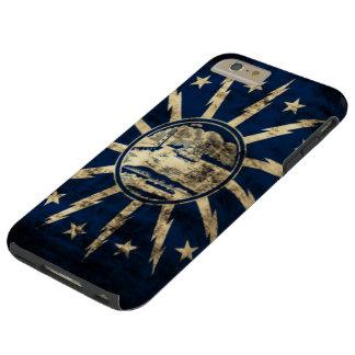 ヴィンテージのグランジなバッファローの旗ニューヨーク TOUGH iPhone 6 PLUS ケース