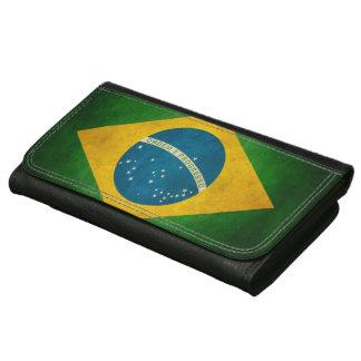ヴィンテージのグランジなブラジルの旗Bandeiraはブラジルをします