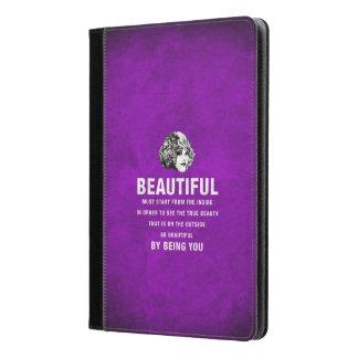 ヴィンテージのグランジな美しい絶対必要の開始 iPad AIRケース