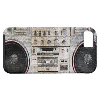 ヴィンテージのゲットーの発破工 iPhone SE/5/5s ケース