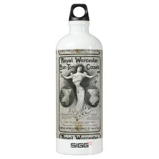 ヴィンテージのコルセットの広告 ウォーターボトル