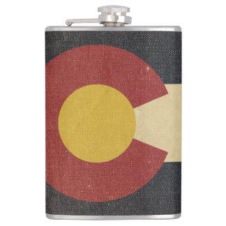ヴィンテージのコロラド州の州の旗 フラスク