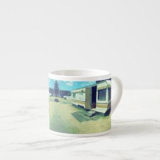 ヴィンテージのコーヒー・マグ、70年代の駄作のキャラバン エスプレッソカップ