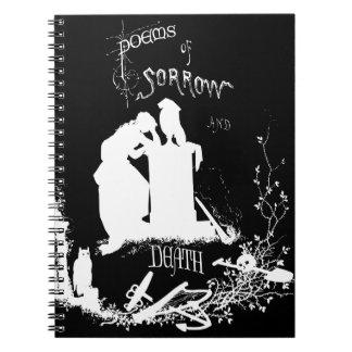 ヴィンテージのゴシック様式カバー ノートブック