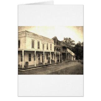 ヴィンテージのゴーストタウンのホテル カード