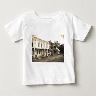 ヴィンテージのゴーストタウンのホテル ベビーTシャツ
