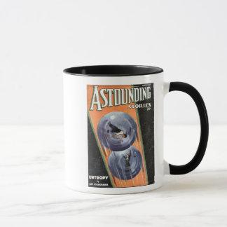 ヴィンテージのサイファイの喜劇的な驚異的な物語のエントロピー マグカップ