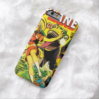 ヴィンテージのサイファイの漫画(パルプの空想科学小説カバー) BARELY THERE iPhone 6 ケース