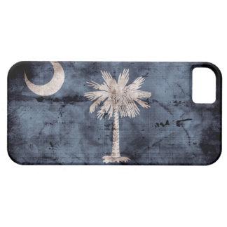 ヴィンテージのサウスカロライナの旗のiPhone 5つのケース iPhone SE/5/5s ケース