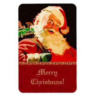 ヴィンテージのサンタクロースのクリスマスのギフトの磁石 マグネット