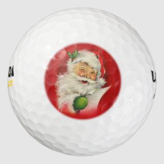 ヴィンテージのサンタクロースのクリスマス ゴルフボール
