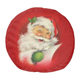 ヴィンテージのサンタクロースのクリスマス プーフ
