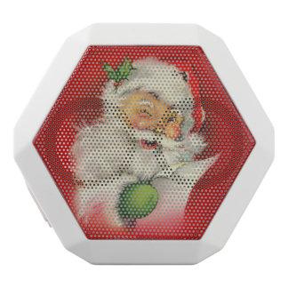 ヴィンテージのサンタクロースのクリスマス ホワイトBluetoothスピーカー