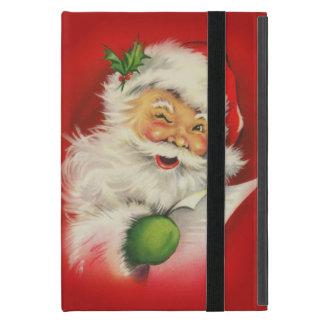 ヴィンテージのサンタクロースのクリスマス iPad MINI ケース