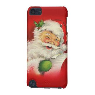 ヴィンテージのサンタクロースのクリスマス iPod TOUCH 5G ケース