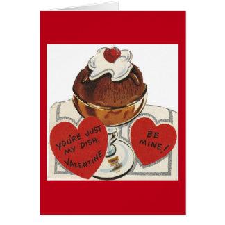 ヴィンテージのサンデーのバレンタイン カード