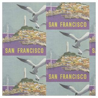ヴィンテージのサンフランシスコのカスタマイズ可能な生地 ファブリック