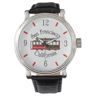 ヴィンテージのサンフランシスコのケーブル・カー 腕時計
