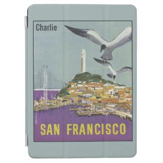 ヴィンテージのサンフランシスコの名前をカスタムする装置カバー iPad AIR カバー