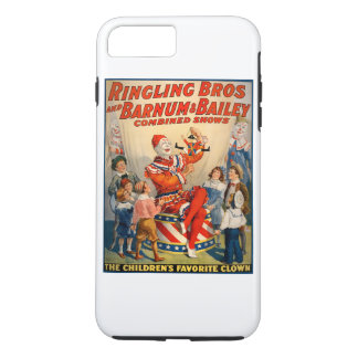 ヴィンテージのサーカスポスターとのiphoneの場合 iPhone 8 plus/7 plusケース
