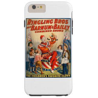 ヴィンテージのサーカスポスターとのiphoneの場合 tough iPhone 6 plus ケース