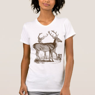 ヴィンテージのシカ Tシャツ