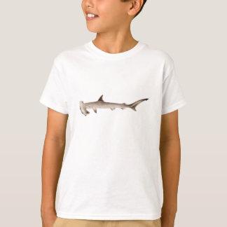 ヴィンテージのシュモクザメのイラストレーションのレトロの鮫 Tシャツ