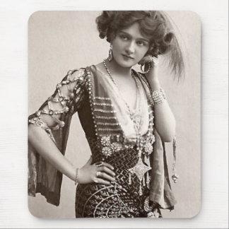 ヴィンテージのジプシーの女性マウスパッド マウスパッド