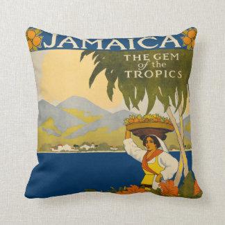 ヴィンテージのジャマイカの枕 クッション