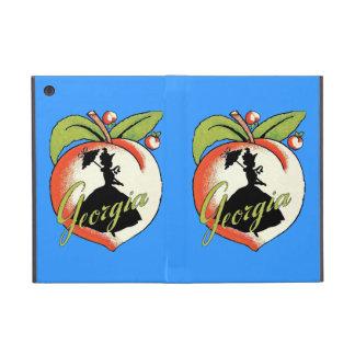 ヴィンテージのジョージアのモモのシルエット南鐘 iPad MINI ケース