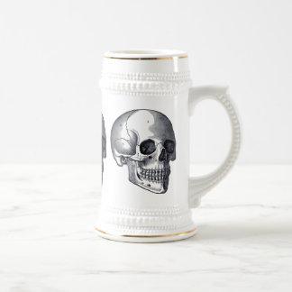 ヴィンテージのスカルのゴシック様式パンクビールステイン ビールジョッキ