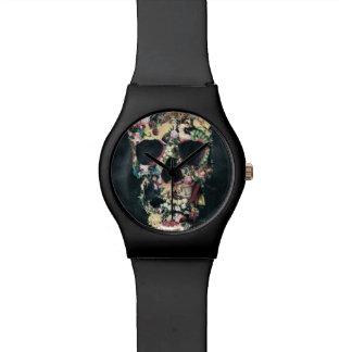 ヴィンテージのスカル 腕時計