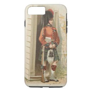 ヴィンテージのスコットランド人の兵士 iPhone 8 PLUS/7 PLUSケース