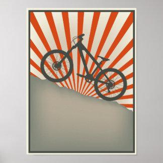 ヴィンテージのスタイルのバイクポスター ポスター